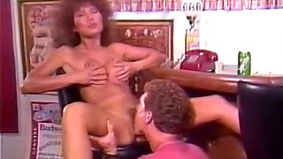 Barbie Doll Bella Donna Jade East in classic porn movie