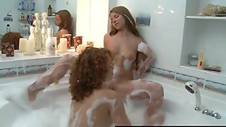 RealLesbianExposed - Naughty Lesbian Bath Time Fun
