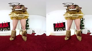 TmwVRnet.com -Chrissy Fox - New Year   s striptease