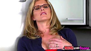 A perfect threesome sex session