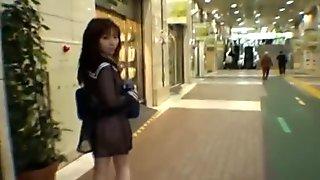 Mikan Lovely Asian schoolgirl