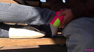 Jasmine Keds fondling and sock tickling PREVIEW