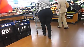 Huge Booty Black Pants Sista