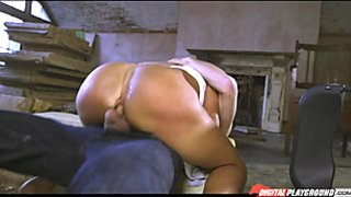 Horny Franceska Jaimes gets her pussy stuffed