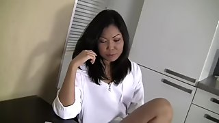 Asian Teen Myra does a hot Anal.