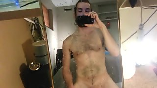 Piss fun with a mirror part 2