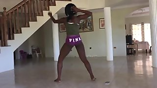 Hot Jamaican Ebony Teen Dancer