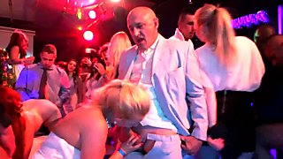 Bisexual brides fucking at a sex party
