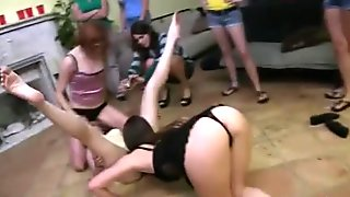 Lingerie teens hazed bootcamp