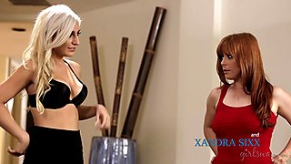 Penny Pax and Xandra Sixx at GirlsWay