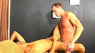 Sexy twink Robbie has a very special treatment today at the