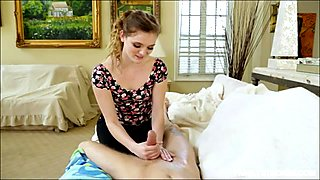 Teenie Stacey Leann pounded by stepbro