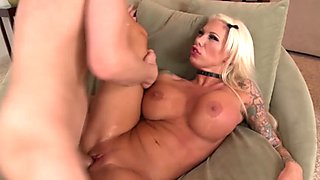 Airerose Blonde Bombshell Lolly Ink Fucks Hard