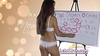Lelu Love-January 2015 Cum Schedule