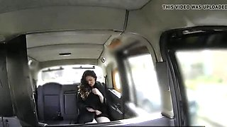 Cheeky taxi slut banged outdoors after oral